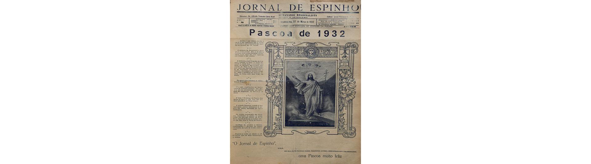 Páscoa de 1932 - mar. 2021