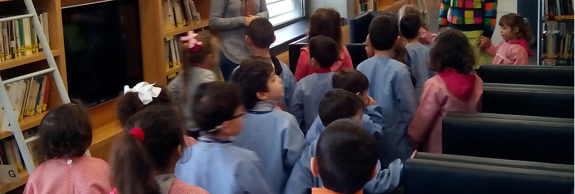 Visita Guiada à Biblioteca Municipal